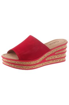 gabor slippers rood