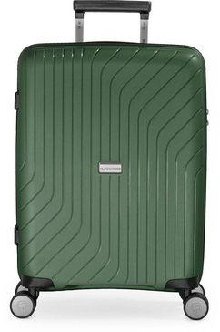hauptstadtkoffer hardshell-trolley groen