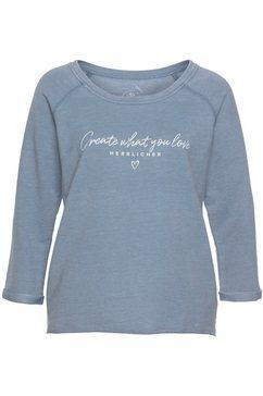 herrlicher sweater »benice« blauw