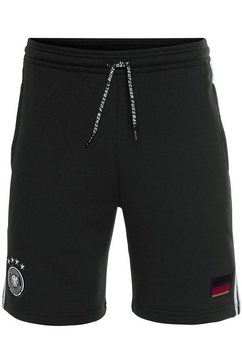 adidas performance sweatshort »dfb 3 stripes sweat short« zwart