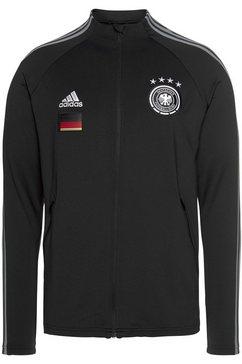 adidas performance trainingsjack »dfb anthem jacket« zwart