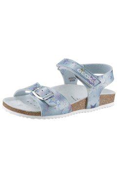 geox kids sandalen »adriel« blauw
