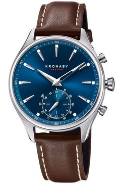 kronaby smartwatch »sekel, s3120-1« bruin