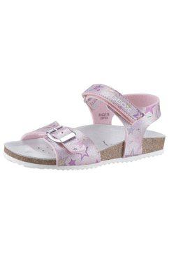 geox kids sandalen »adriel« roze