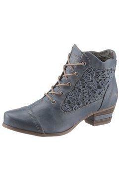 mustang shoes veterlaarsjes blauw
