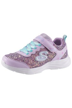 skechers kids sneakers »glimmer kicks« paars