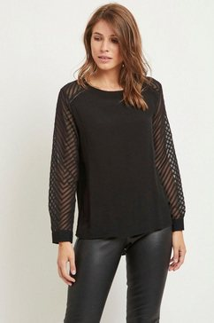 object shirtblouse »objzoe« zwart