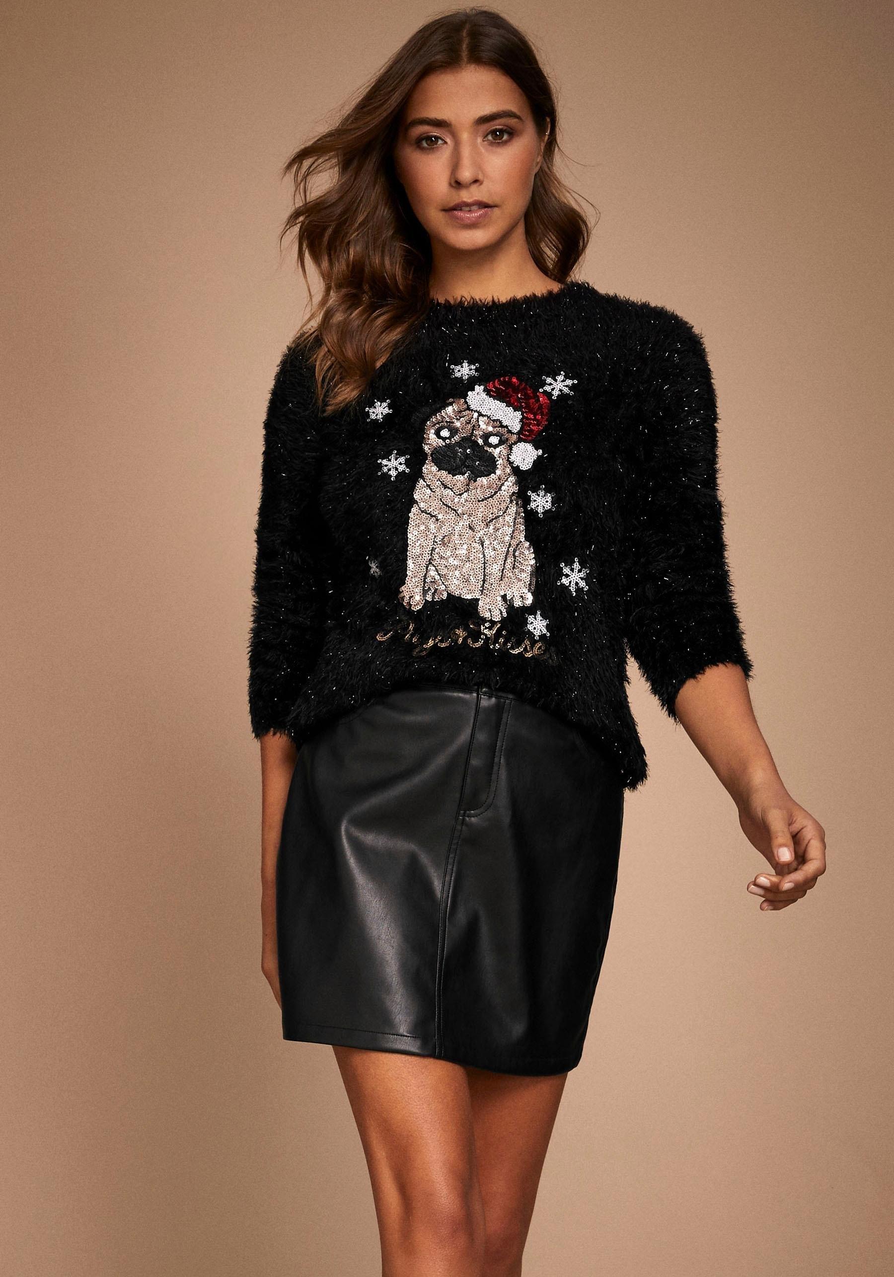 Op zoek naar een Lipsy kersttrui met ronde hals? Koop online bij OTTO