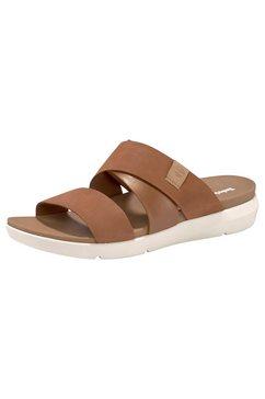 timberland sandalen »wilesport slide sandal« bruin