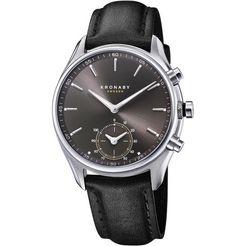 kronaby smartwatch »sekel, s0718-1« zwart
