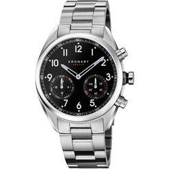 kronaby smartwatch »apex, s3111-1« zilver