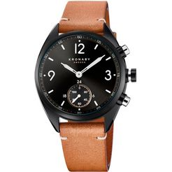 kronaby smartwatch apex, s3116-1 bruin