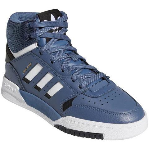 adidas originals Drop Step leren sneakers blauw-wit