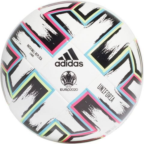 adidas Uniforia league ek 2020 voetbal wit-groen Kinderen