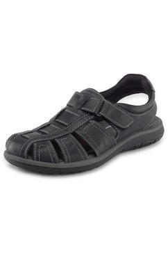 salamander sandalen »logato« zwart