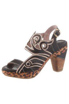 laura vita highheel sandaaltjes »ficnalo« zwart