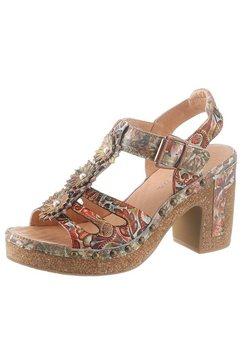 laura vita highheel sandaaltjes »hecalo« multicolor
