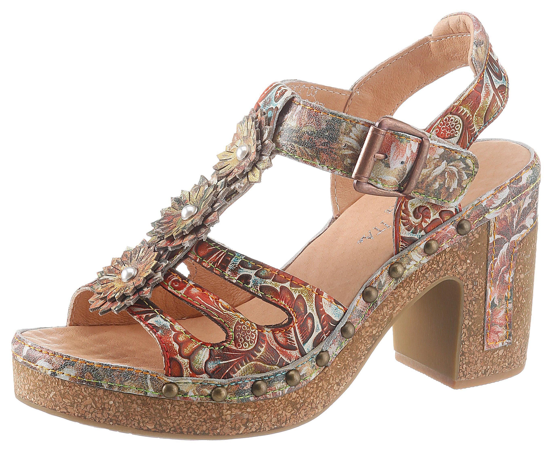 Laura Vita Highheel Sandaaltjes Hecalo Online Shop - Geweldige Prijs