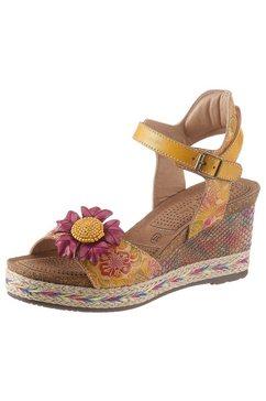 laura vita sandaaltjes »facyo« geel