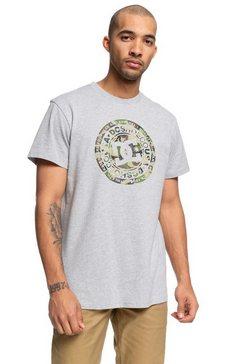 dc shoes - circle star - t-shirt voor heren grijs