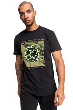 dc shoes t-shirt »rules definition ss« zwart