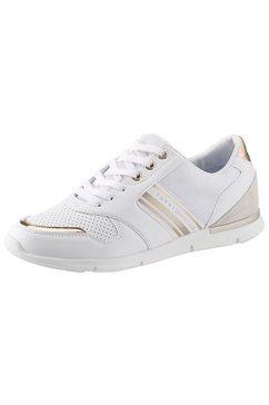 tommy hilfiger sneakers met sleehak »skye 1c9« wit
