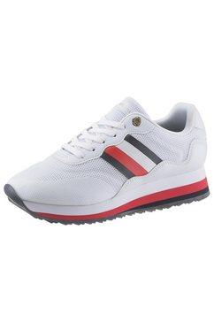 tommy hilfiger sneakers met sleehak »angel 14c« wit