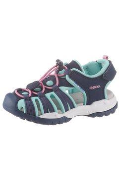 geox kids sandalen »borealis girl« blauw