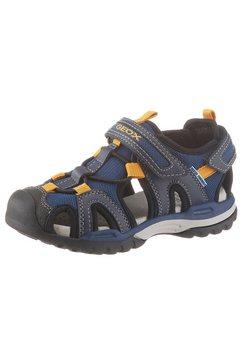 geox kids sandalen »borealis boy« blauw