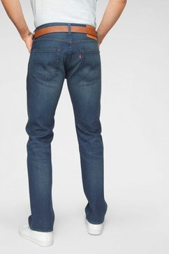 levi's straight jeans 501 blauw