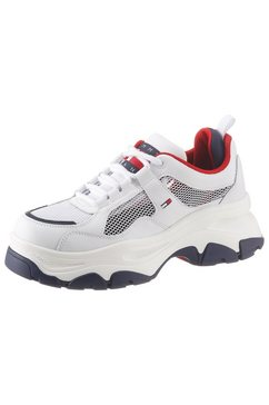 tommy jeans plateausneakers »elle 1c« wit