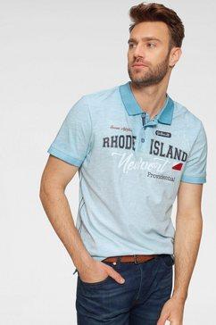 rhode island poloshirt blauw