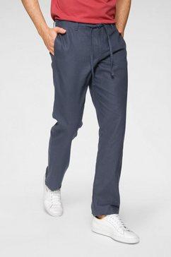 rhode island linnen broek blauw