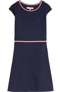 tommy hilfiger skaterjurk »essential skater dress« blauw
