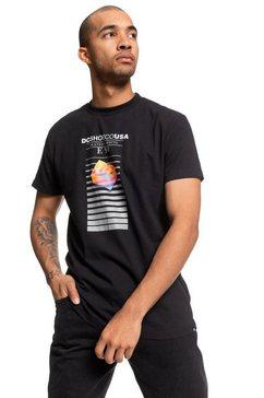 dc shoes t-shirt »home video« zwart