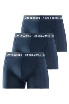 jack  jones boxershort (set van 3) blauw