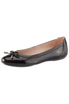 geox ballerina's »donna charlene« zwart
