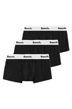 bench. boxershort (set van 3) met weefband zwart