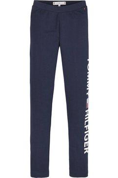 tommy hilfiger legging »essential logo leggings« blauw
