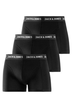 jack  jones boxershort (set van 3) zwart