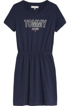 tommy hilfiger shirtjurk »jersey tee dress« blauw