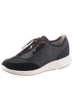 geox slip-on sneakers »donna ophira a« schwarz