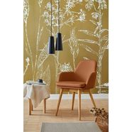 premium collection by home affaire stoel met armleuningen livry (set, 2 stuks) oranje