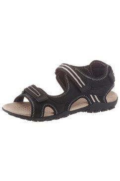 geox outdoorsandalen »donna sandal strel« zwart
