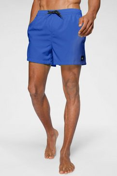 quiksilver boardshort »everyday volley« blauw