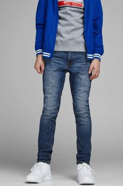jack  jones junior stretch jeans blauw