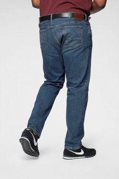 tommy hilfiger comfort fit jeans »big  tall madison str« blauw