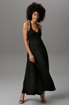 aniston selected party-jurk zwart