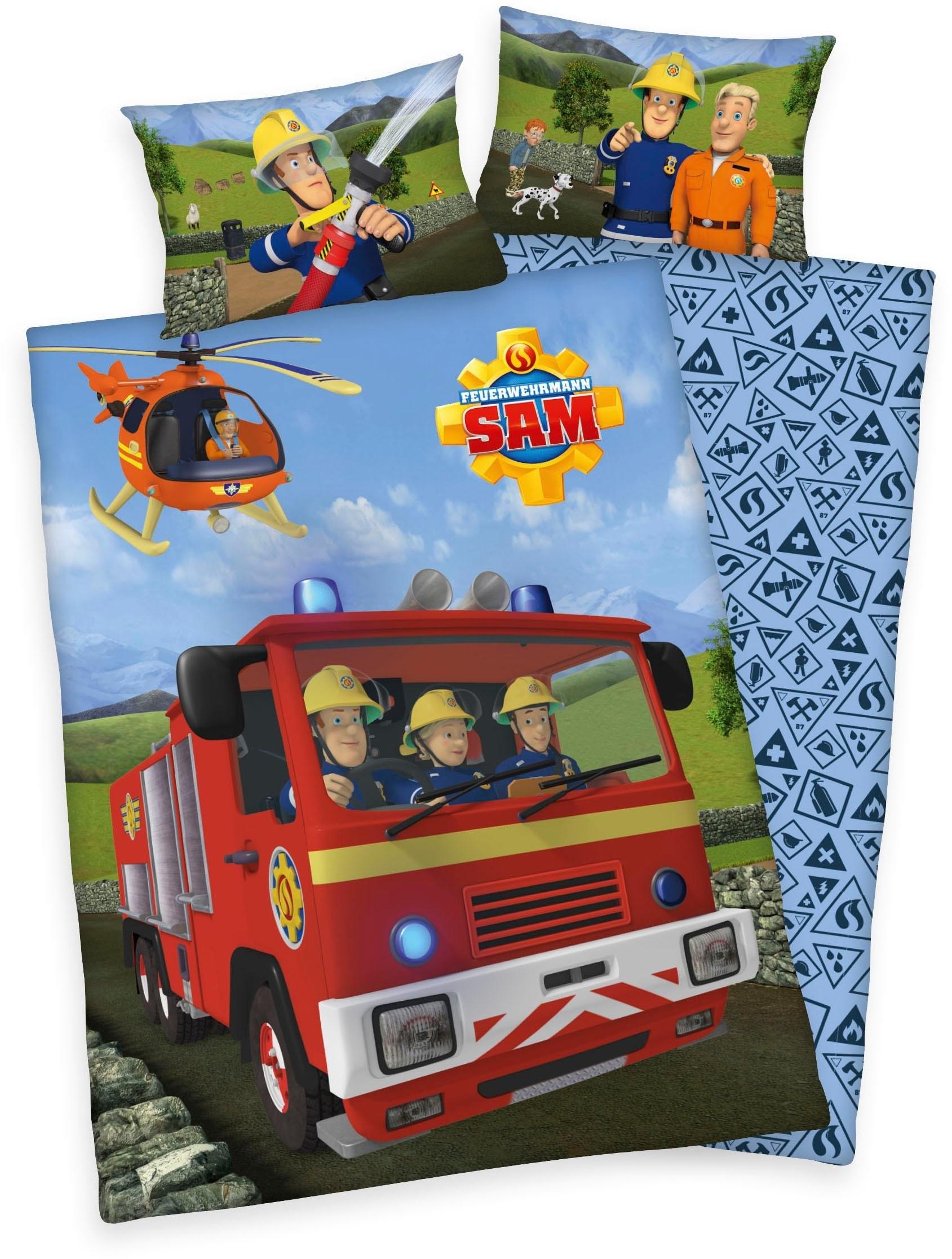 Feuerwehrmann Sam baby-overtrekset »Feuerwehrmann Sam« bestellen: 30 dagen bedenktijd