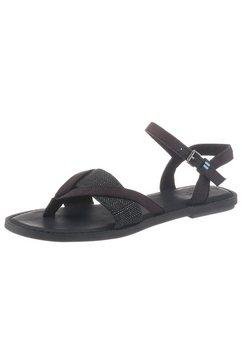 toms sandalen zwart